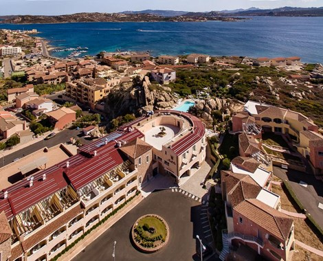 Hotel Resort on La Maddalena Island