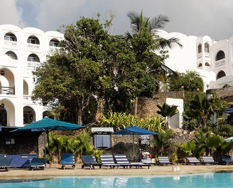 Diani Beach is a major beach resort on the Indian Ocean coast of Kenya