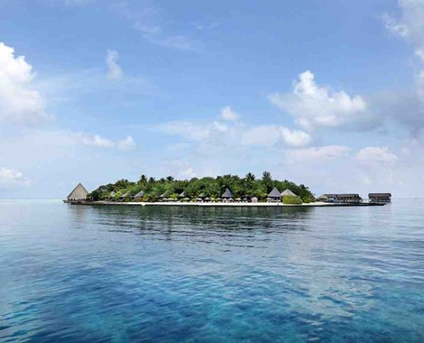 45 chalet Island Resort in operation in the Maldives for 12 years